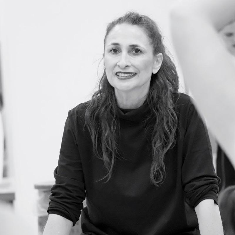 Portrait de Nathalie Chevalier professeure de danse